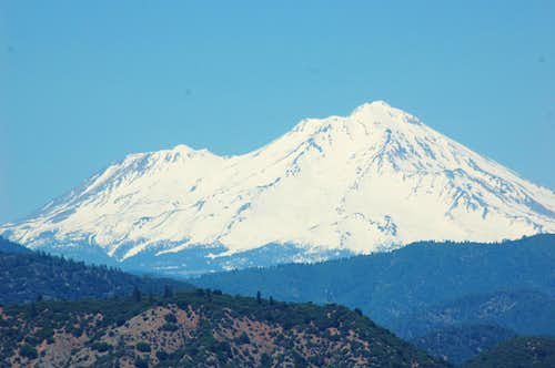 Shasta From Shasta lake