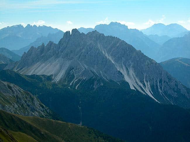 Crode dei Longerin (2523m) as...