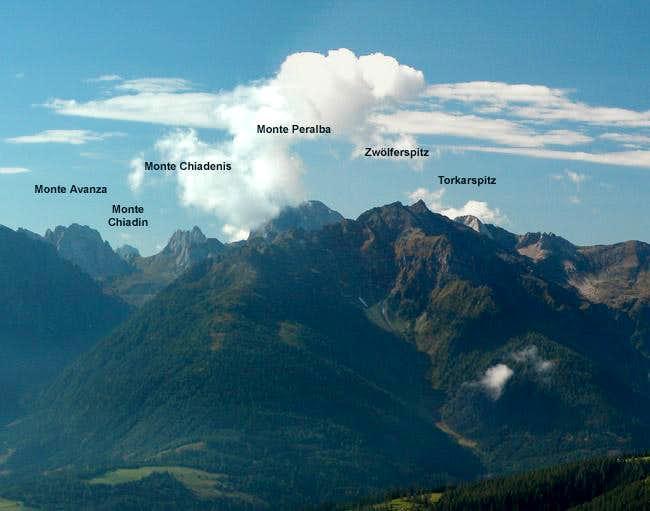 Carnic Alps Main Ridge (West) photo_id=113852
