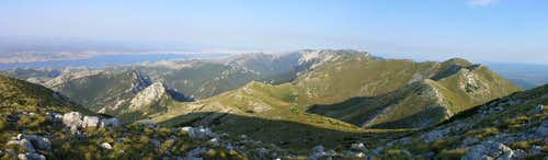 sveto brdo panoramic view to west
