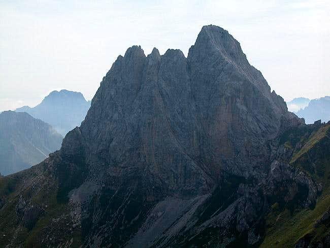 Monte Chiadenis (2490m) seen...