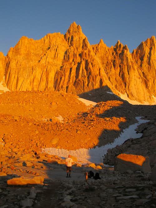 Mt. Muir - Alpenglow