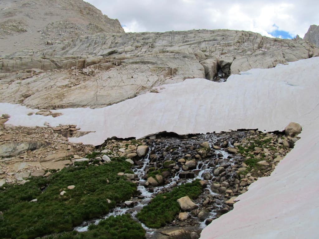 Fresh melted cascade