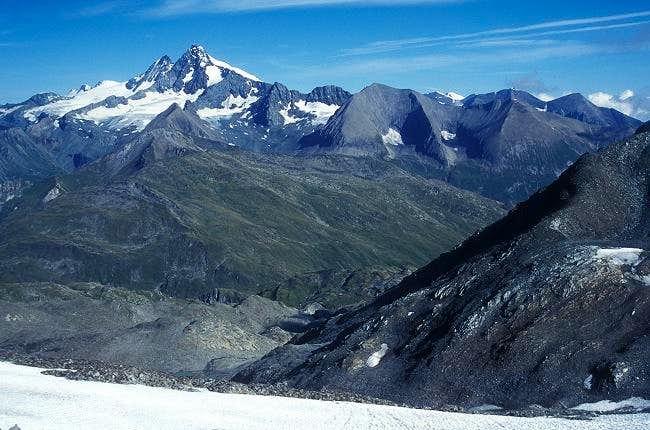 southern Glockner ridge as...