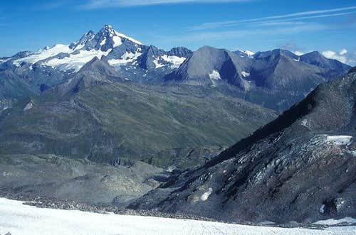 southern Glockner ridge as...