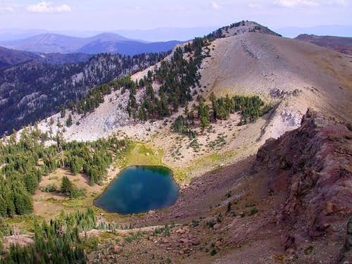 A view of Granite Chief from...