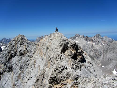 Summit of Pico de Santa Ana Oriental