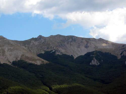 Monte Viglio (NW face)