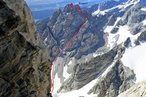 West Hourglass Couloir