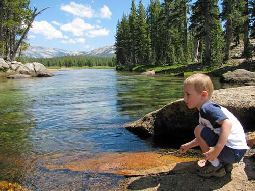 Matthew by Tuolumne River