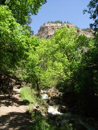 Up the Hanging Lake Trail