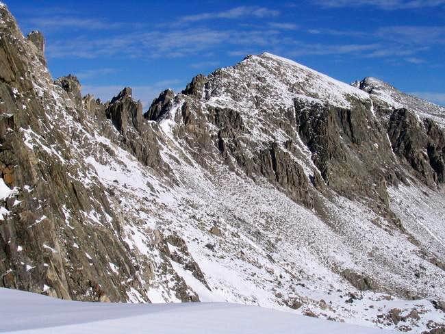 Atlantic Peak as seen from...