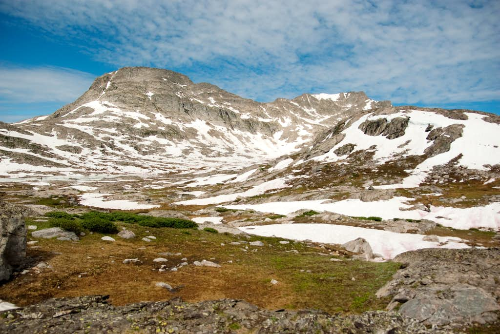 Above Elbow Lake