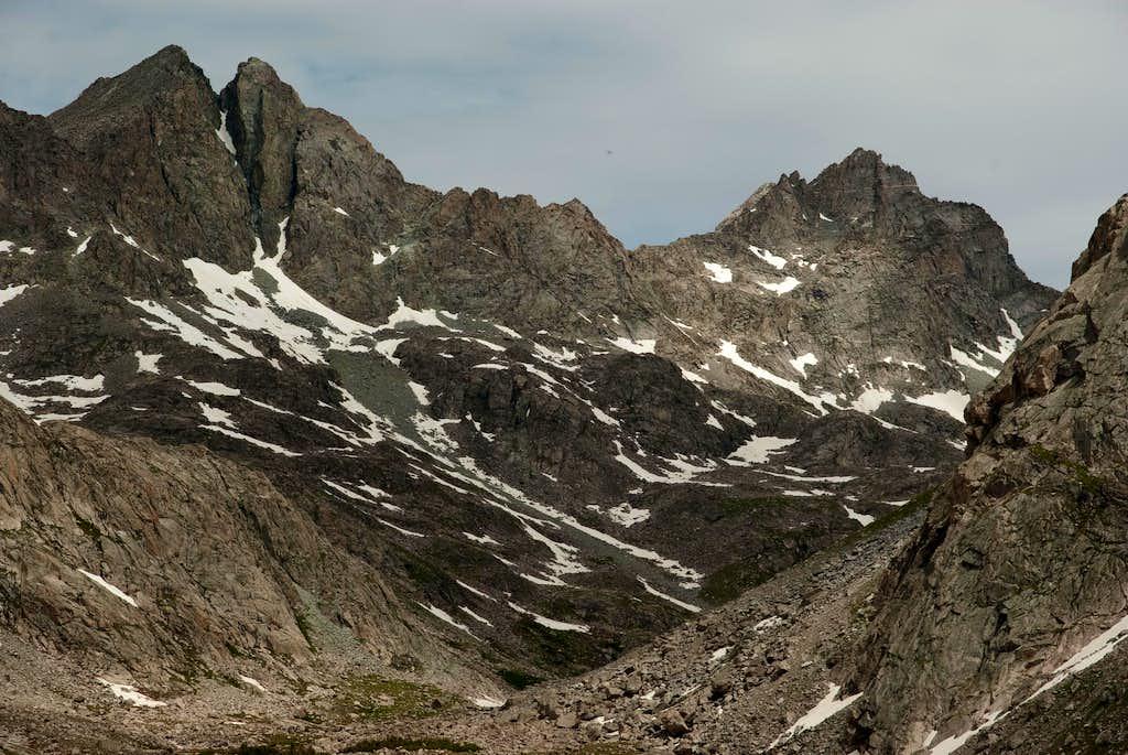Above Peak Lake