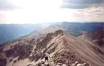 Princeton SW ridge looking...