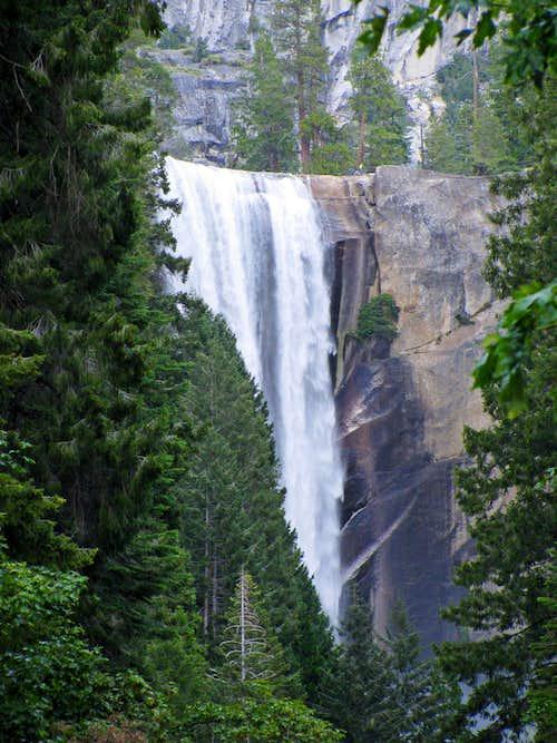 Vernal Falls from first bridge