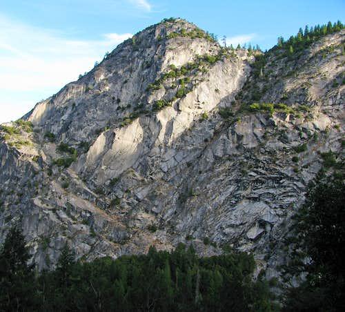 Half Dome sub-peak