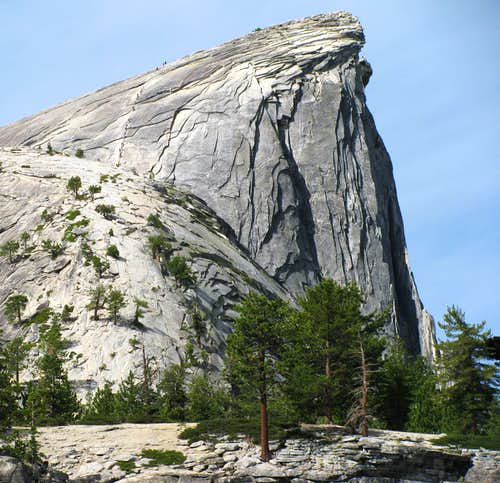 Half Dome east aspect