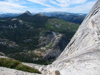 Half Dome south slope