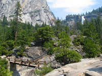 Bridge between Vernal & Nevada Falls