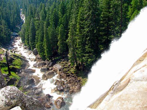 Vernal Falls drop