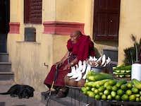 swayambhunath monk