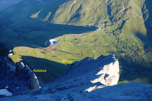 Eiger West Flank