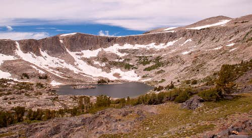 Upper Granite Lake and Glacial Cirque