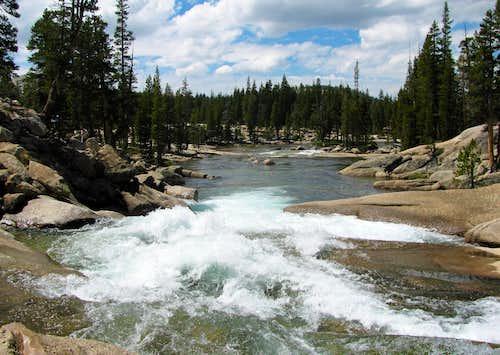 Tuolumne River mini cascades