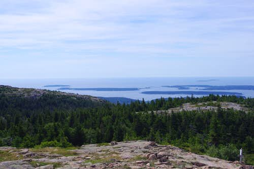 Cranberry Isles from Sargent Mountain