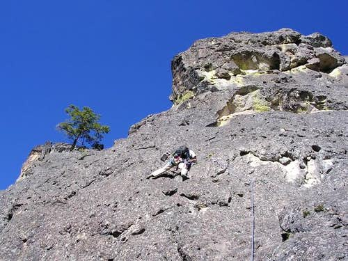 Mark leading second pitch...