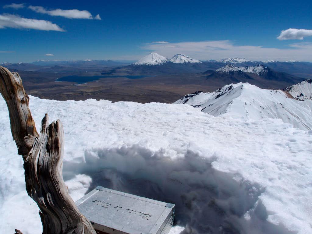 Acotango's summit