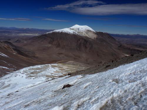 Descent to the Guallatiri