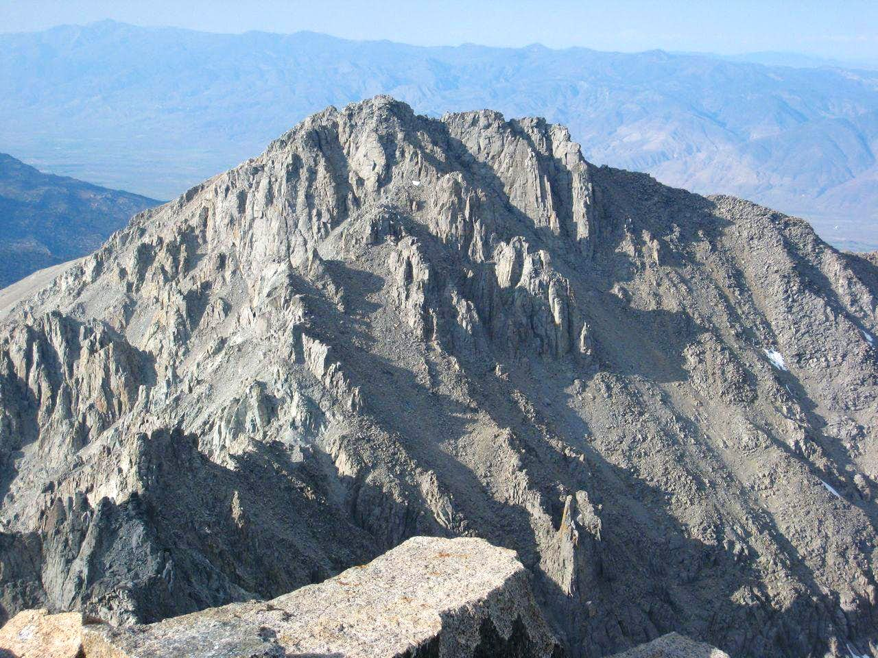 Peak 3994m (0.9 mi N of The Thumb)