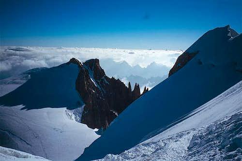 Mont Blanc du Tacul taken...