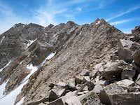 Joe Devel Peak NW Ridge