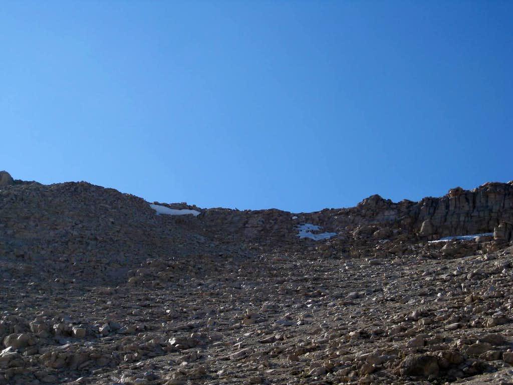 New Army Pass Cliffs