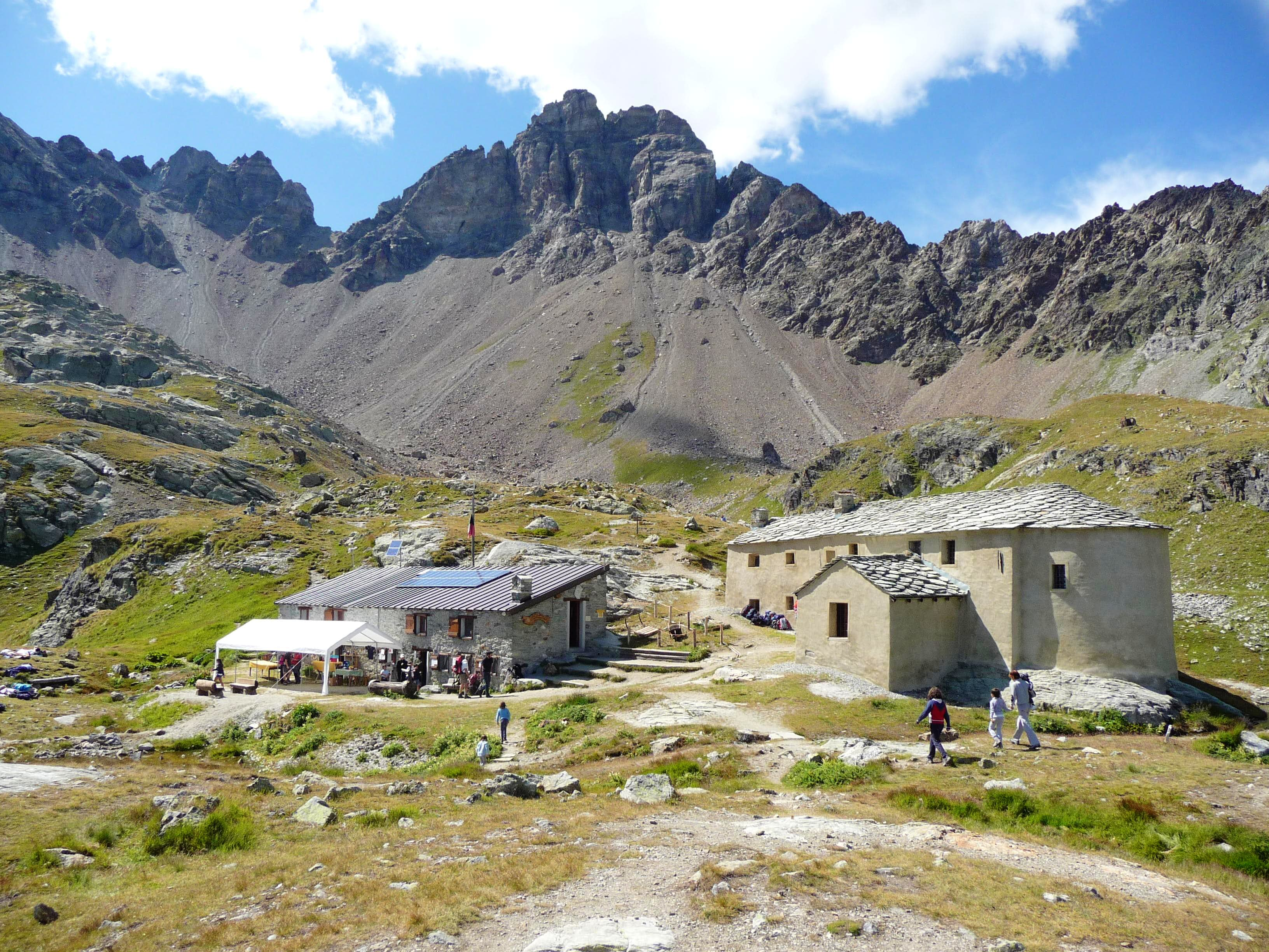 <font color=ff7000>⌂</font>Alpine REFUGES in the Aosta Valley &quot;Saint Barthélemy Valley&quot;