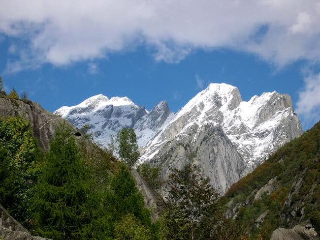 The head of Val Masino - View...