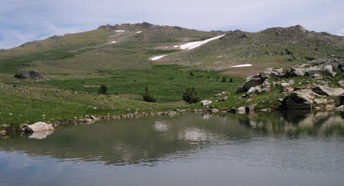 Union Peak and Tarn