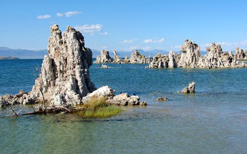 Mono Lake Tufa rocks