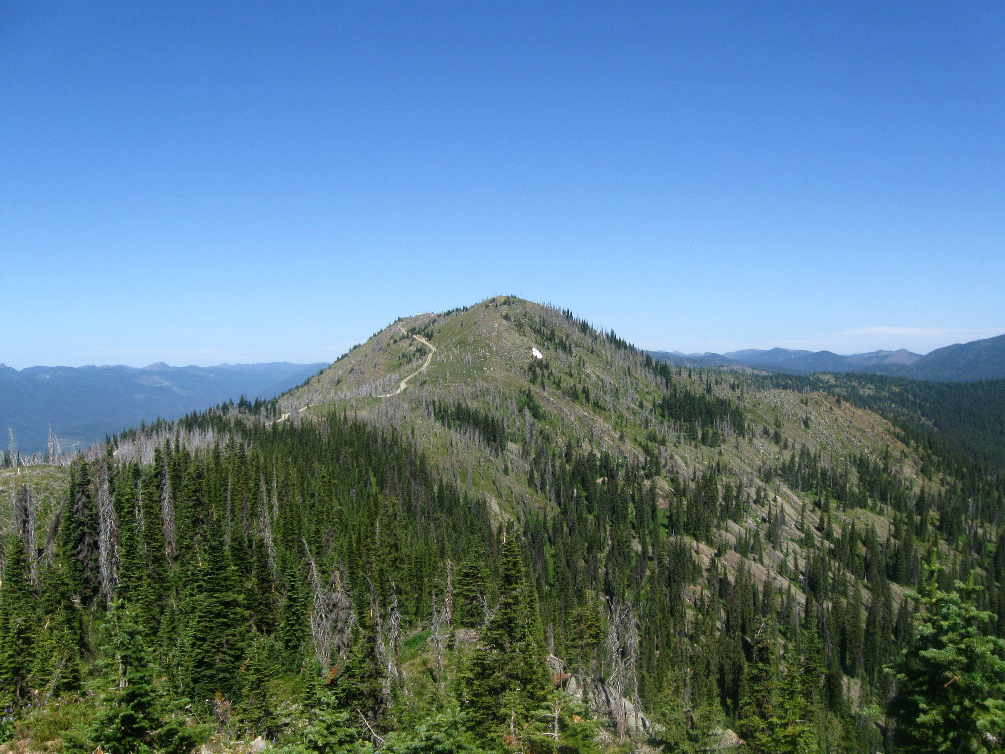 Werner Peak and Lookout