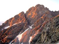 Sunrise on Nez Perce Peak