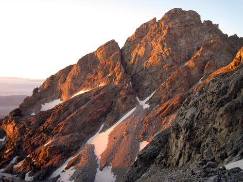 Morning light on Nez Perce Peak