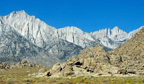 Lone Pine Peak & Whitney