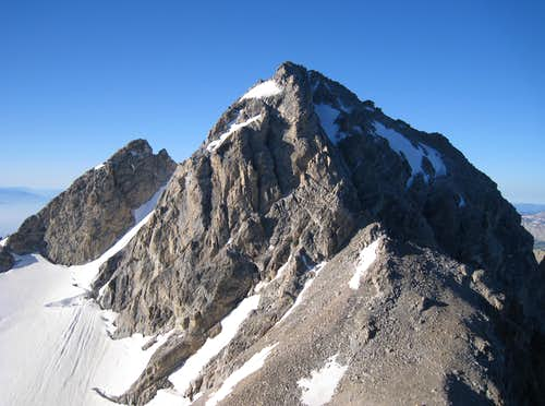 Middle Teton from the base of the Needle