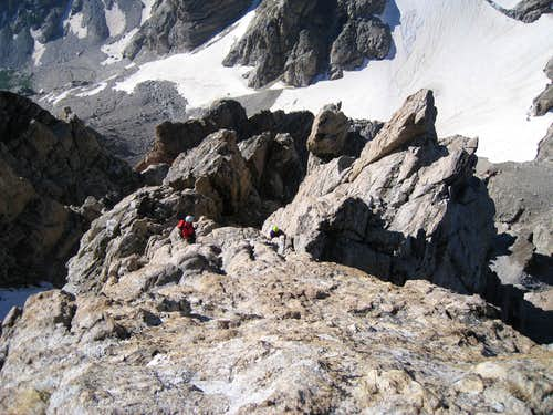 Grand Teton: Upper Exum Ridge