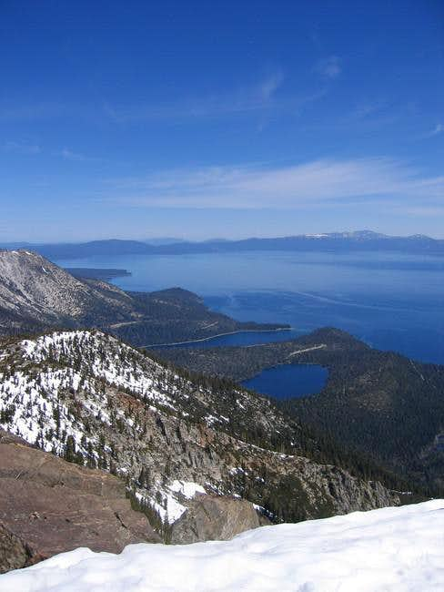 Mt. Tallac Summit view...