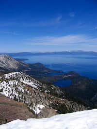 Mt. Tallac Summit view...