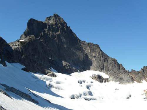 NE Ridge of Mt Triumph